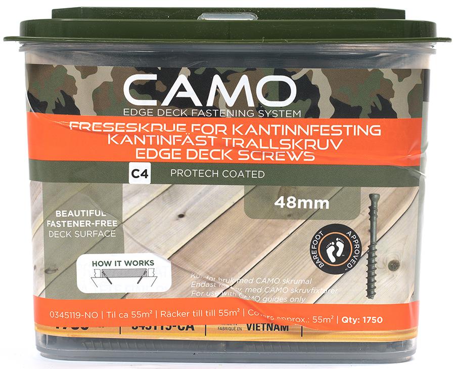 Camo Freseskrue C4 3x48 A1750