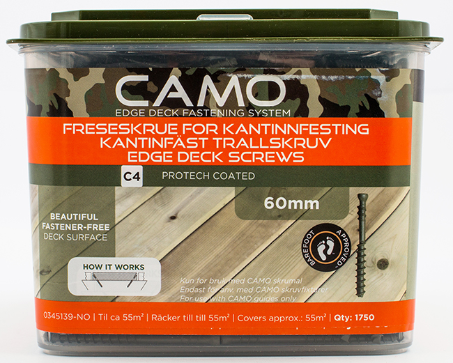 Camo Freseskrue C4 3x60 A1750