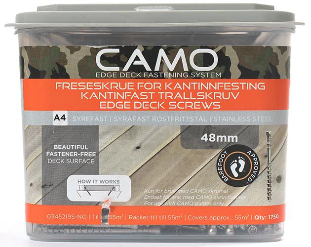 Camo Freseskrue A4 3x48 A1750