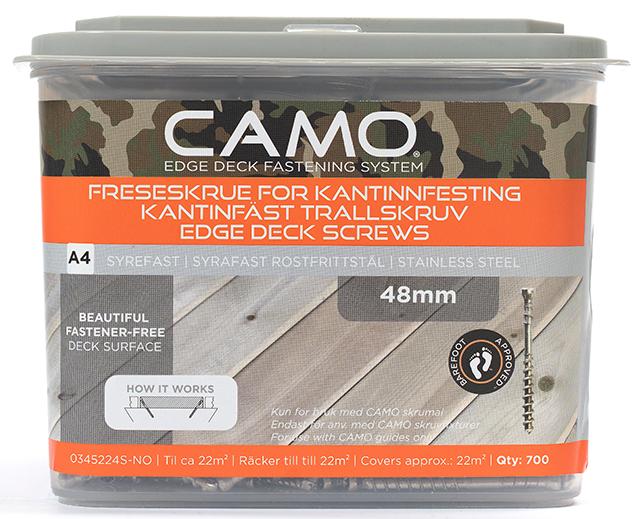 Camo Freseskrue A4 3x48 A700