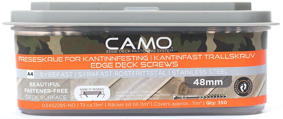 Camo Freseskrue A4 3x48 A350