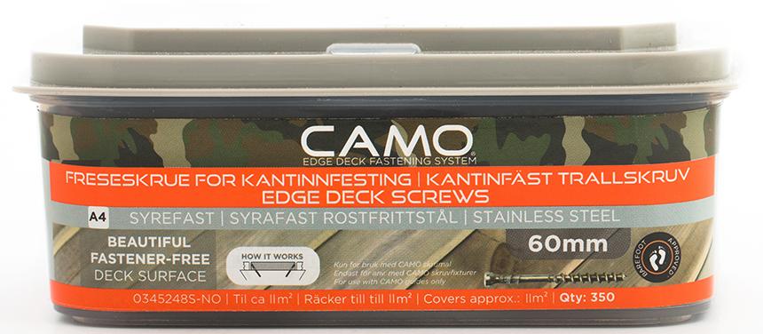Camo Freseskrue A4 3x60 A350