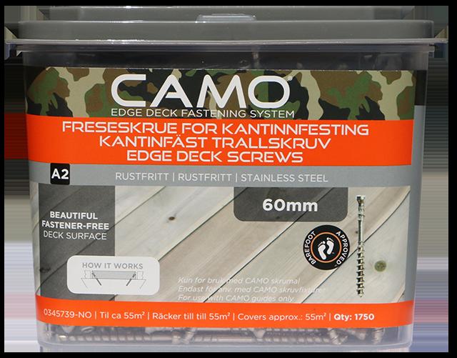 Camo Freseskrue A2 3x60 A1750