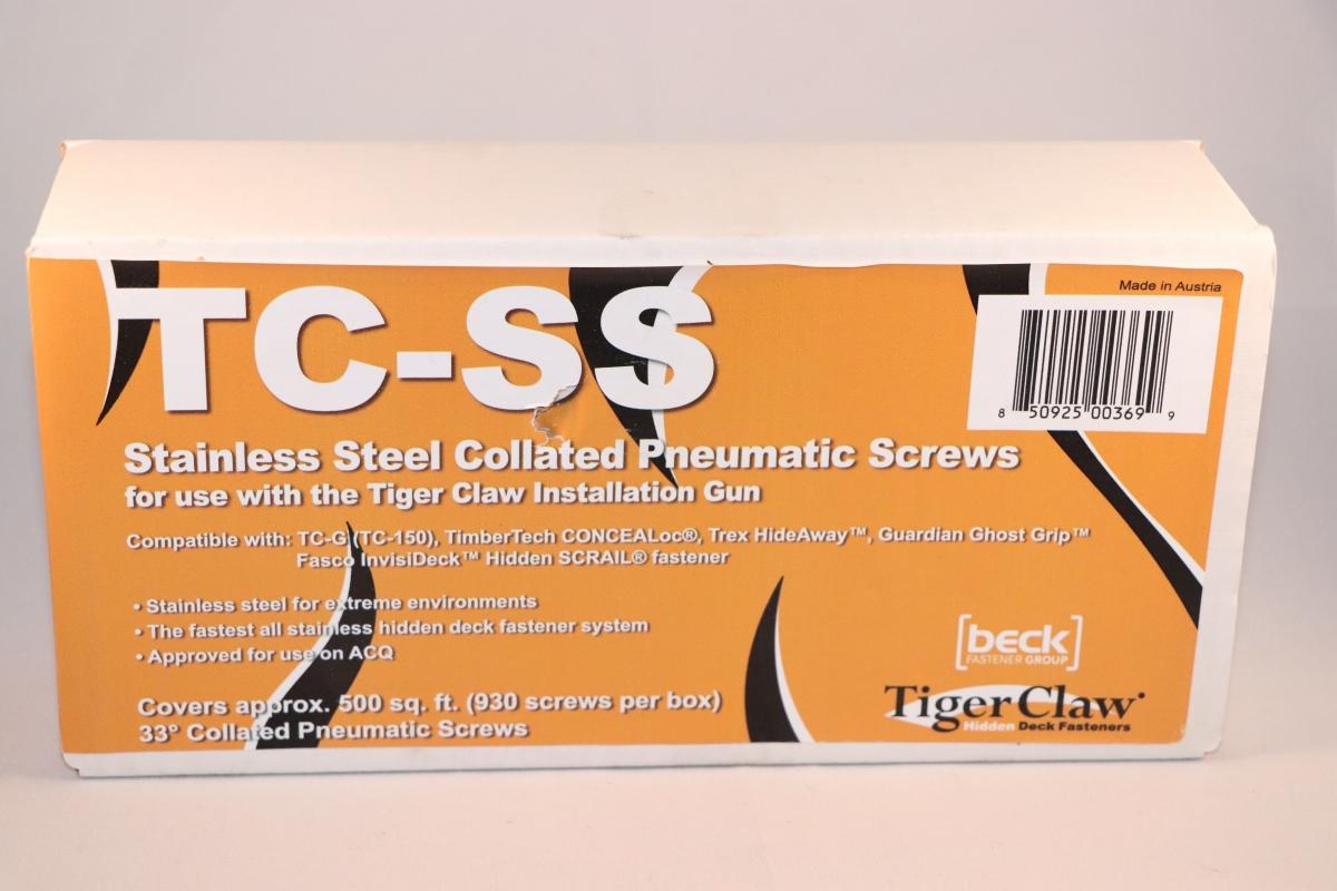 Spiker-skrue for Beslag Tc-g 930stk